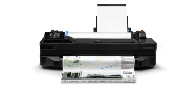 HP Designjet <strong> T120 </strong>
